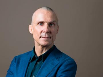 Simon Norrthon, ordförande i Teaterförbundet