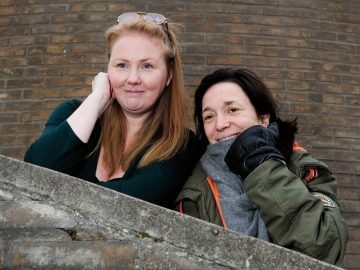 Veronica Berg och Andrea Edwards Folkteatern Göteborg