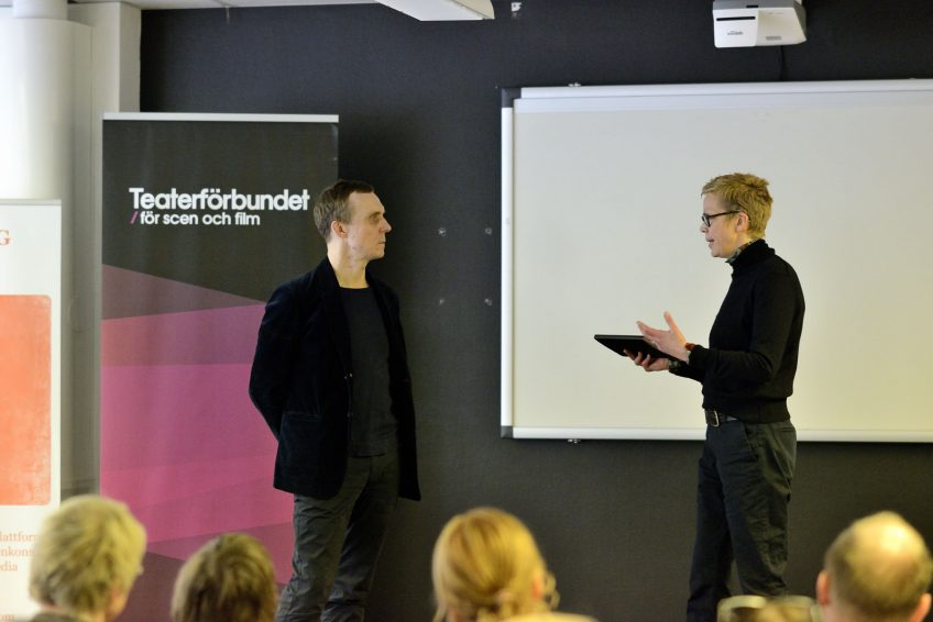 Simon Norrthon och Katti Hoflin